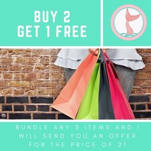 ALL ITEMS BUY 2 GET 1 FREE